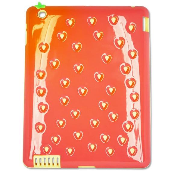 Capa Case Tablet iPad 2 iPad 3 iPad 4 Apple Rosa Vermelho