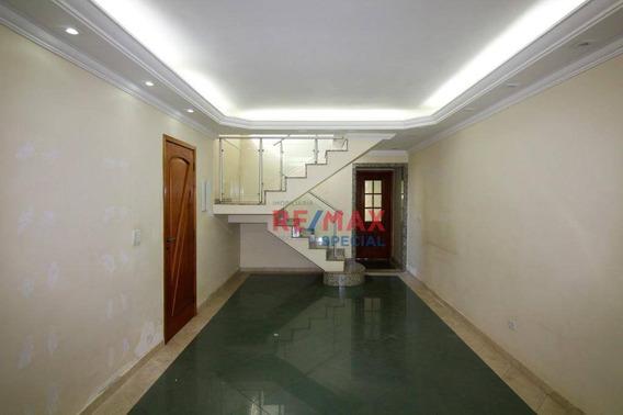 Sobrado Com 3 Dormitórios À Venda, 162 M² Por R$ 700.000,00 - Vila Rosália - Guarulhos/sp - So0069