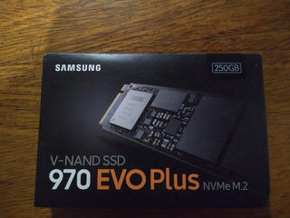 Disco Ssd Samsung 970 Evo Plus Nvme 250 Gb