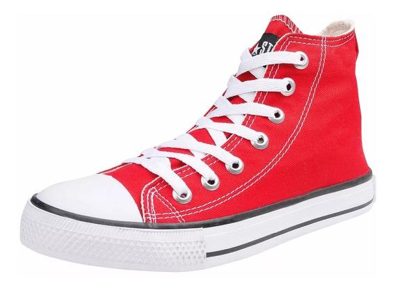 Tênis Converse All Star Cano Alto Original Vermelho