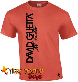 Playera Djs David Guetta Mod. 04 By Tigre Texano Designs