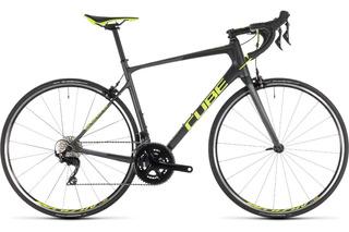 Bicicleta Carbono Ruta Cube Attain Gtc Pro 2x11 105- Palermo