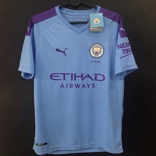 Camisa Manchester City Home 2019/2020 Pronta Entrega