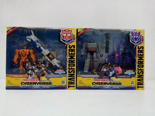 Transformers Cyberverse Spark Armor Megatron/cheetor 2pack M