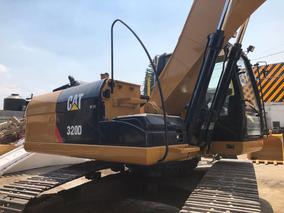 Excavadora Hidráulica Caterpillar 320d 320 Escabadora Buena