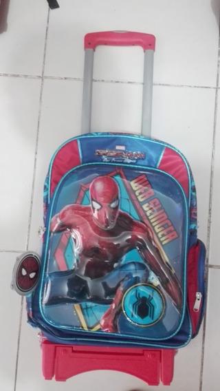 Mochila De Carro El Hombre Araña En 3d