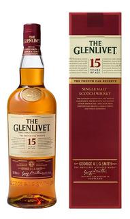 The Glenlivet 15 Años Whisky Escocés Single Malt 700 Ml