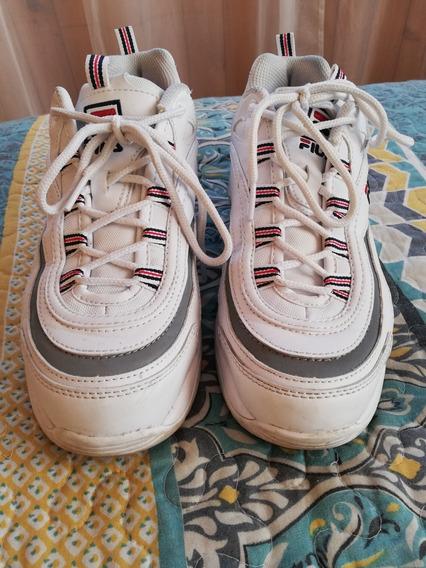 Zapatillas Fila Originales N 38 Una Sola Postura Valor 35000