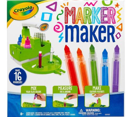 Fabrica De Marcadores Crayola Marker Maker Manualidades
