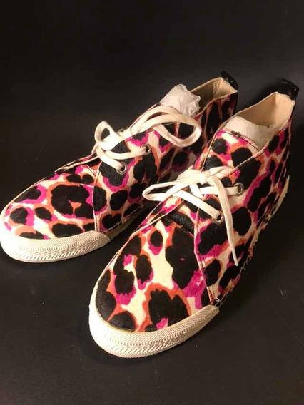Zapato Tenis Nuevo Mujer Moda Marca Nine West 4 Mex Flat