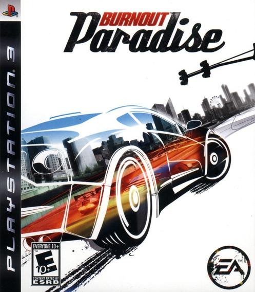 Jogo Burnout Paradise Playstation 3 Ps3 Game Mídia Física