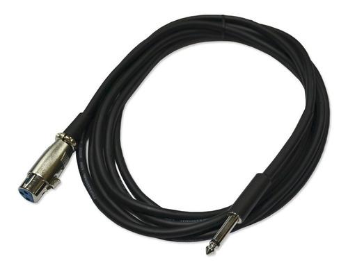 Cable Para Microfono 7mm 5 Metros