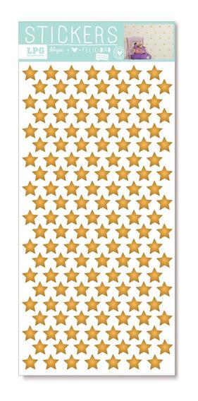Sticker Eco Textura Puntos Dorados