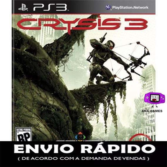 Crysis 3 Ps3 - Jogo Digital