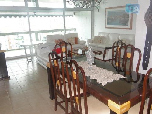 Imagem 1 de 30 de Apartamento Locação Anual Praia Da Enseada, Guarujá. - Ap4456