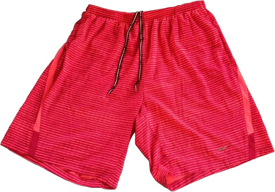 Bermuda Short Nike Dri Fit Running Original Verde Americano