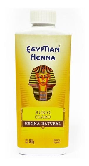 Henna Egyptian Tintura Natural En Polvo 90gr