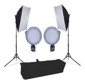 Iluminação 252 Leds Softbox Flash 50x70 Canon Nikon