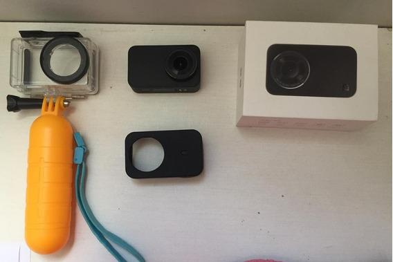 Camera De Ação Xiaomi Mijia 4k + Acessórios (na Foto)