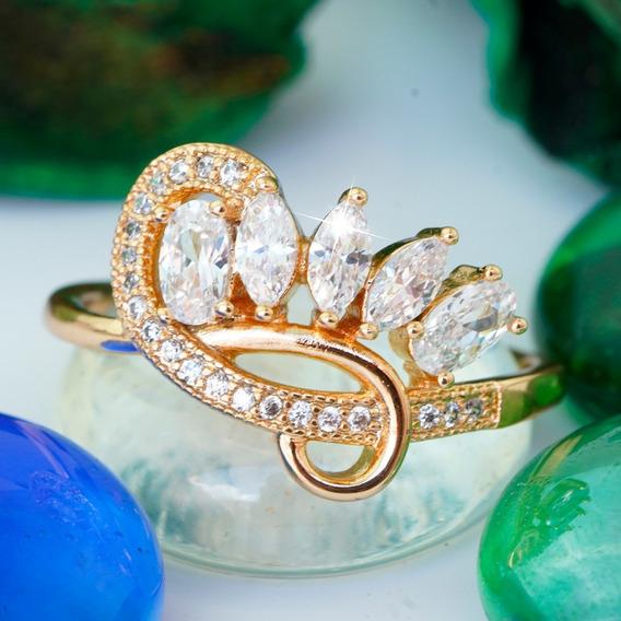 Anillos Compromiso Oro 18k Diamantes Reina Princesa Joyeria