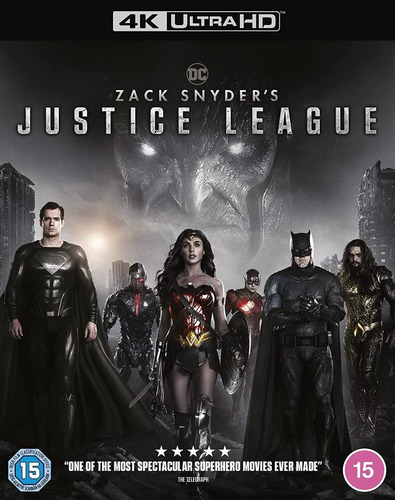 Imagen 1 de 2 de 4k Ultra Hd Blu-ray Zack Snyder´s Justice League (2021)