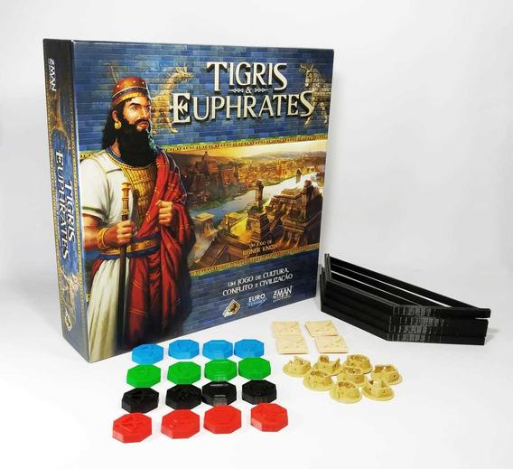 Tigris E Euphrates + Kit De Peças 3d Jogo De Tabuleiro