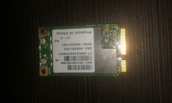 Placa Wireless Hp Dv4 1136br