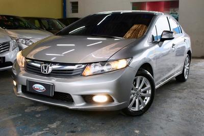 Honda Civic Lxs 2014 Automatico Troco