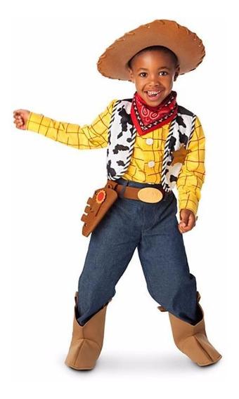 Disfraz Niño Woody Traje Toy Story Disney Store Original