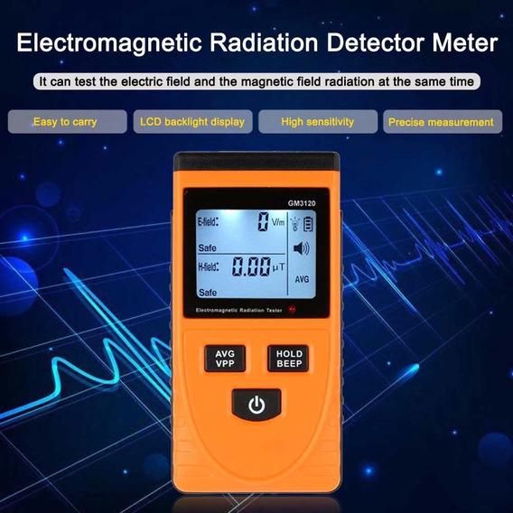 Electromagnetic Radiação Detetor Medidor Dosimeter Testado