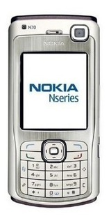 Nokia N70 (multilingüe, Plata / Negro, Reino Unido)