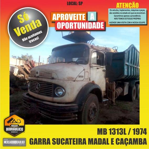 Mb 1313l / 1974 - Garra Sucateira Madal E Basculante