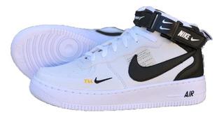 Tenis Bota Nike Air Force Unissex + Brinde Frete Grátis
