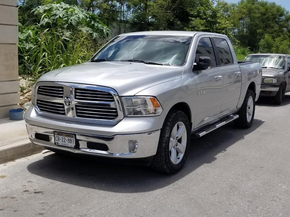 Camioneta Pick Up Dodge Ram Big Horn 6 Cil. 4x2 2014