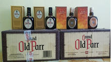 Whisky Old Parr Doble Black Swing Chivas De 25 Años