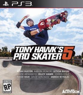 Ps3 Tony Hawks Pro Skater 5 Juego Digital 2gb