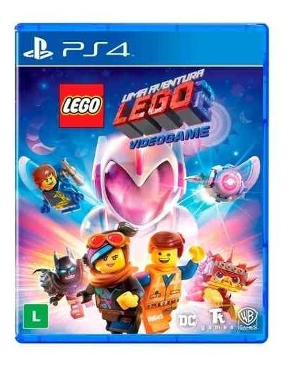 Lego Movie 2 Ps4 Mídia Física Lacrado