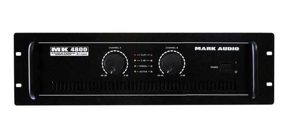 Amplificador Potência Mk 6200 Mark Audio