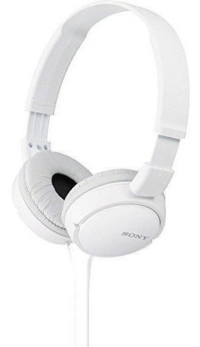Audifonos De Diadema En Color Blanco Por Sony