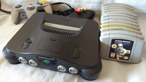 Consola Nintendo 64 + 12 Juegos
