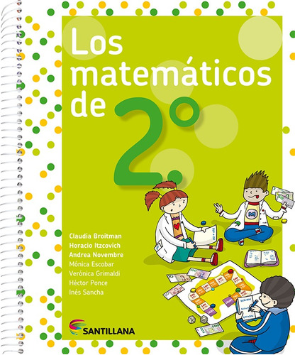 Los Matemáticos De 2.° - Santillana