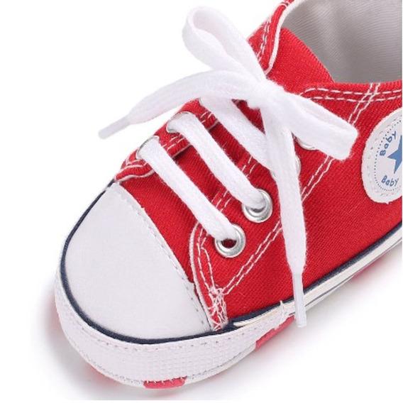Sapatinho Infantil Bebê Tipo All Star Tênis Baby Sapato