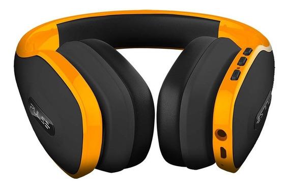 Headphone Stereo Bluetooth 4.0 Pulse Amarelo Ph151 Nfe