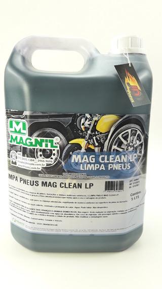 Pneu Pretinho Profissional Mag Clean Liquido 5 Litros Magnil