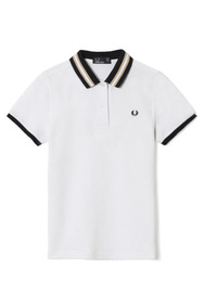 Polo Fred Perry Womens Bomber Stripe Collar Pique 10 12