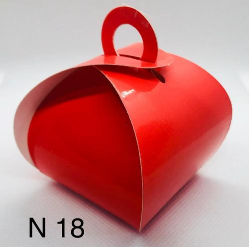 Imagem 1 de 11 de 60 Caixinhas Para Bem Casado Lembrancinha Cor Vermelho