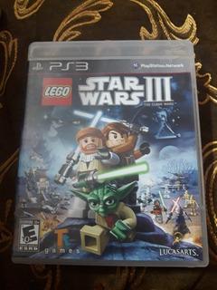 Juego Lego Star Wars Iii: The Clone Wars Ps3