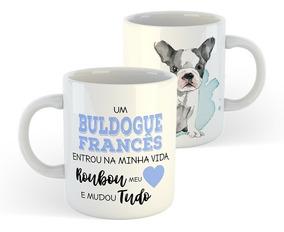 Caneca Cachorros - Raça French Bulldog / Buldogue Francês #2