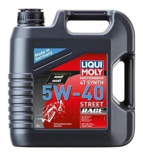 Liqui Moly Aceite Sintetico Moto 4t 5w40 Street Race 4l