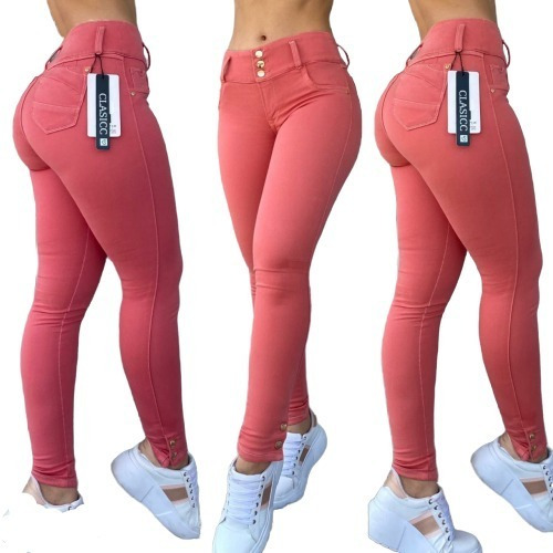 Jeans Pantalon Dama Tallas 8 A La 14 Moda Colombiana